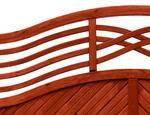 Boazeryjny płot drewniany Malaga Teak ANDREWEX - zdjęcie 3