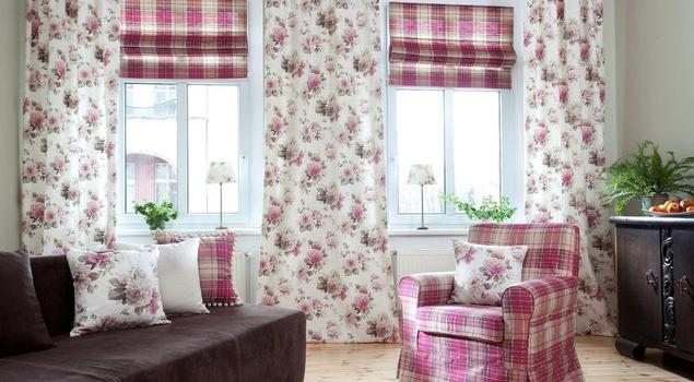 Kwiatowe dekoracje wnętrz Dekoria.pl w stylach z całego świata