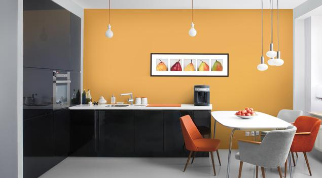 Farby do kuchni Kolory ścian kuchni sekretem udanego po   -> Kuchnie Kolory Farb