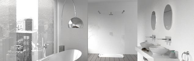 Biała łazienka w mieście. Nowoczesne aranżacje łazienki
