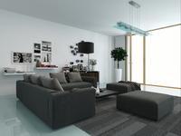 Aranżacja salonu - styl nowoczesny