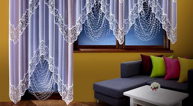 Piękne firany - doskonały pomysł na wystrój okien