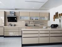 Nowoczesne wnętrza - beżowa kuchnia