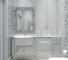 Jak zaprojektować łazienkę? Elegancka, mała toaleta