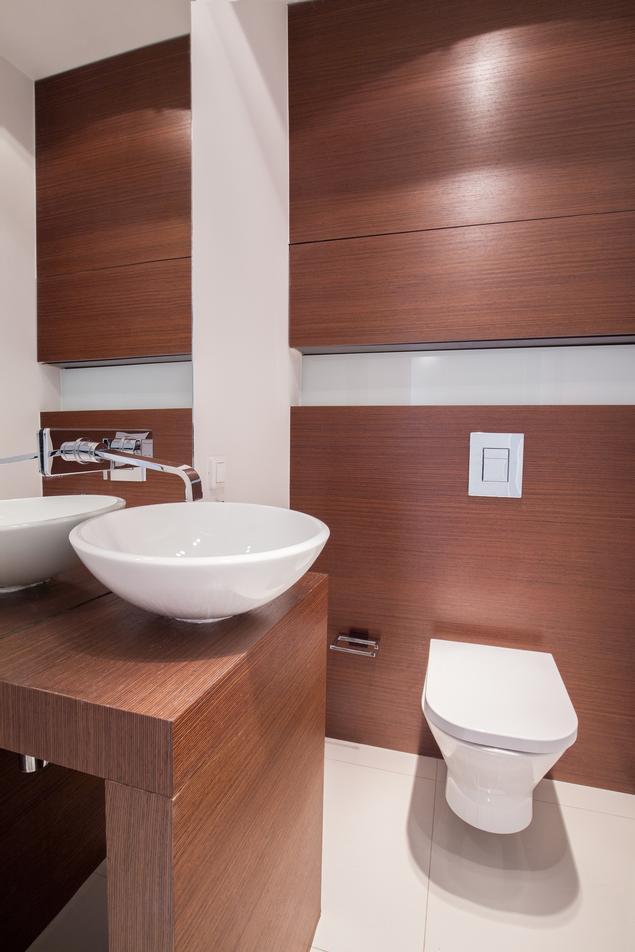 Aranżacja toalety - pomysł na wnętrze