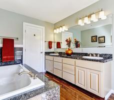 Granit we wnętrzu – aranżacja łazienki. Inspiracja naturalnymi materiałami
