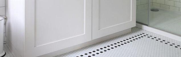 Mozaika na podłodze. Pomysł na podłogę w kuchni lub łazience